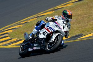 Double eighth place finishes for Maxima BMW's Glenn Allerton at ASBK's grand finale