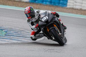 Haslam tops day one of Jerez WorldSBK testing aboard new Honda