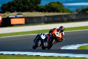 ASBK race two belongs to Maxwell at Phillip Island