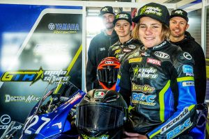 Stauffer graduates to Supersport in newly-formed GTR MotoStars Team