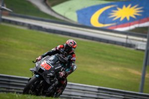 Quartararo once again fastest on day two of MotoGP testing