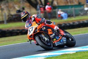 Record lap earns Maxwell Phillip Island ASBK pole position