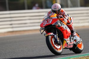 Opening day at Jerez led by Marquez as MotoGP returns