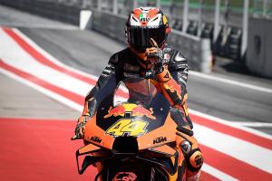 KTM and Espargaro take first ever MotoGP pole position
