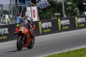 MotoGP rookie Binder stuns with breakthrough KTM victory