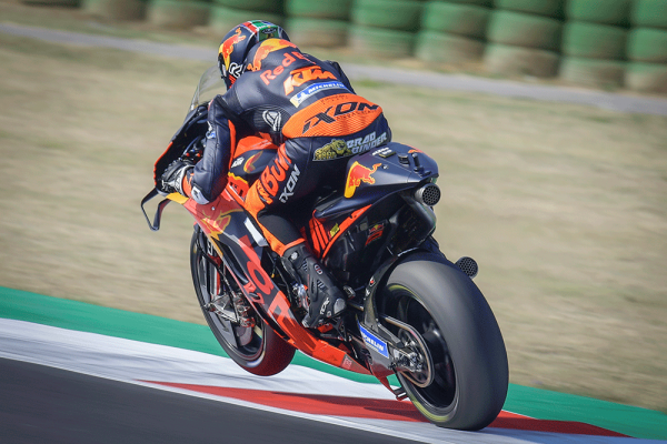 Binder puts KTM back in the mix at Misano 2
