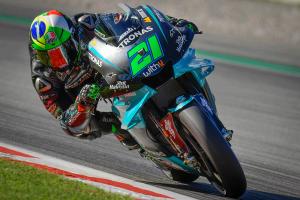 Morbidelli fastest on Friday at Catalunya