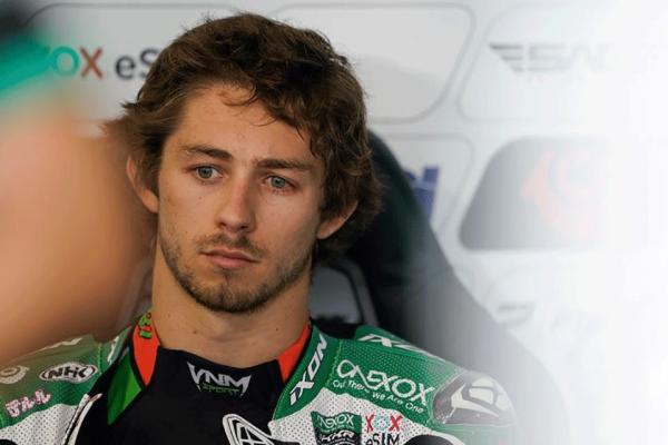 Gardner out of Moto2 race after huge warm-up crash